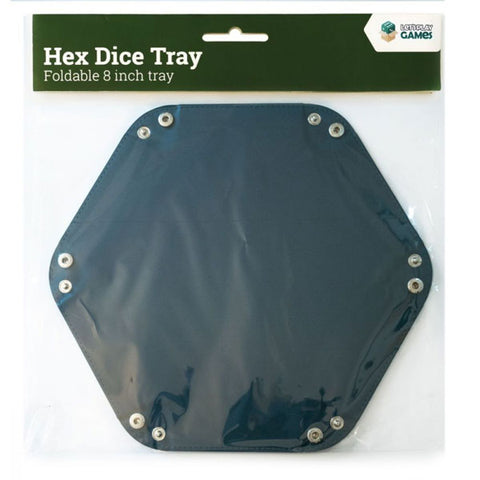 "LPG Hex Dice Tray 8"" Blue"