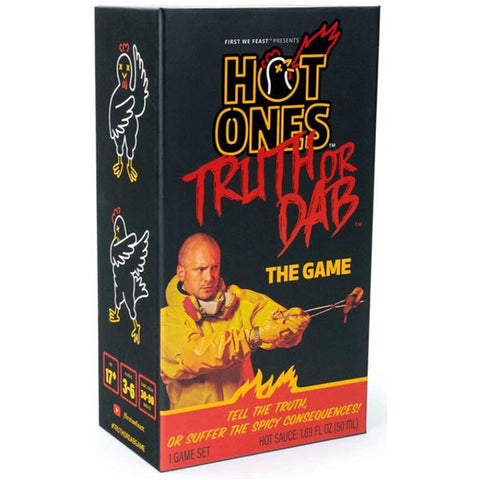 Hot Ones Truth or Dab the Game