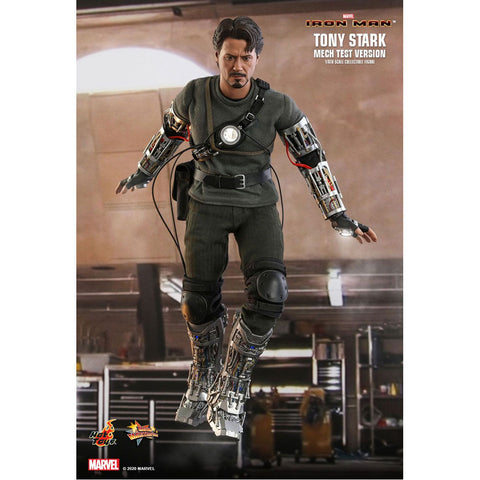 "Image of Iron Man - Tony Stark Mech Test 1:6 Scale 12"" Action Figure"