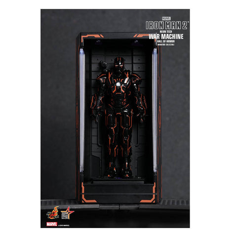 Image of Iron Man 2 - War Machine Neon Tech Hall of Armour