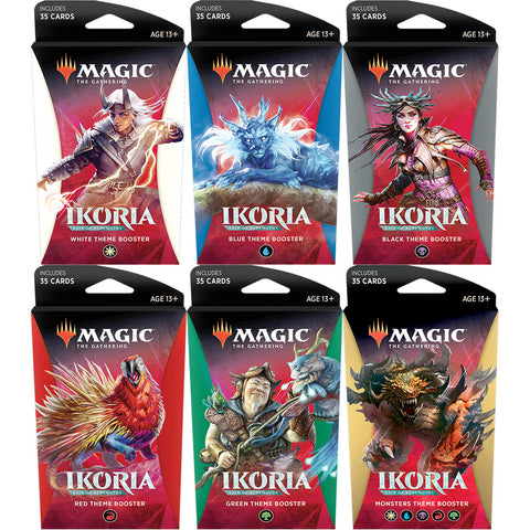 Magic Ikoria Lair of Behemoths Theme Booster (please select your deck in the checkout comments)
