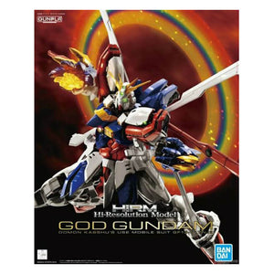 Hi-Resolution Model 1/100 God Gundam