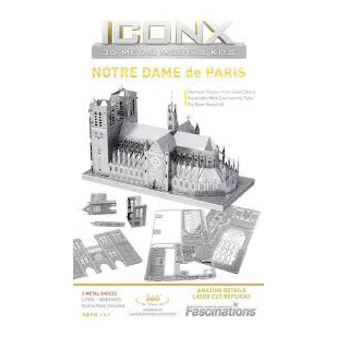 Image of Metal Iconx - Notre Dame De Paris
