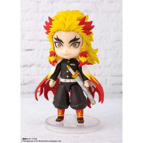 DEMON SLAYER: KIMETSU NO YAIBA - FIGURARTS MINI - RENGOKU KYOJURO