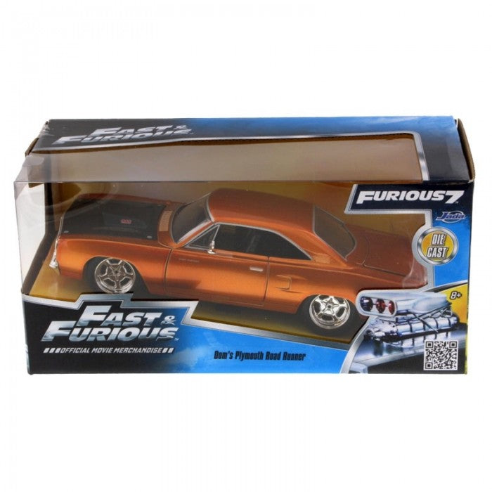 Fast And Furious Doms Plymouth Road Runner 1/24 Scale
