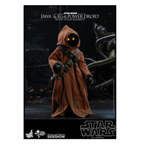 Star Wars - Jawa & EG-6 Power Droid 1:6 Scale Action Figure Set