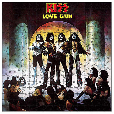 KISS Love Gun 1000pc puzzle