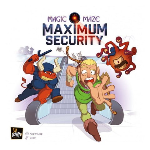 Magic Maze Maximum Security (expansion)