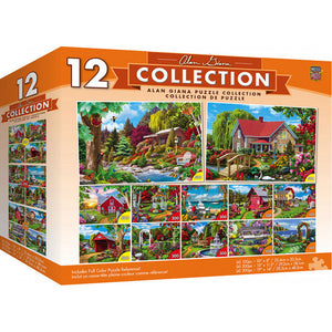 Masterpieces Puzzle 12 Alan Giana Pack Bundle