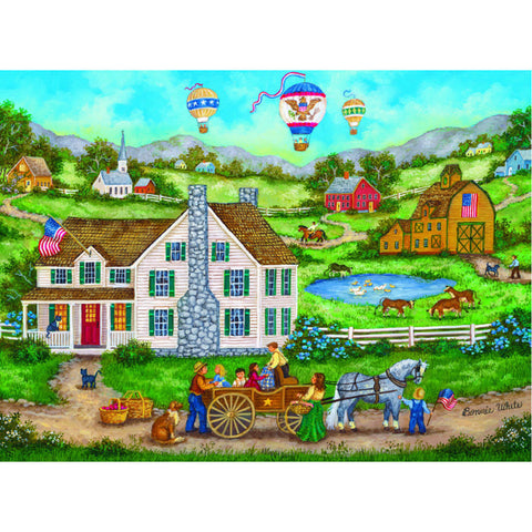 Masterpieces Puzzle 12 Folk Art Pack Bundle