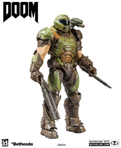 "Doom - Doom Slayer Classic 7"" Action Figure"