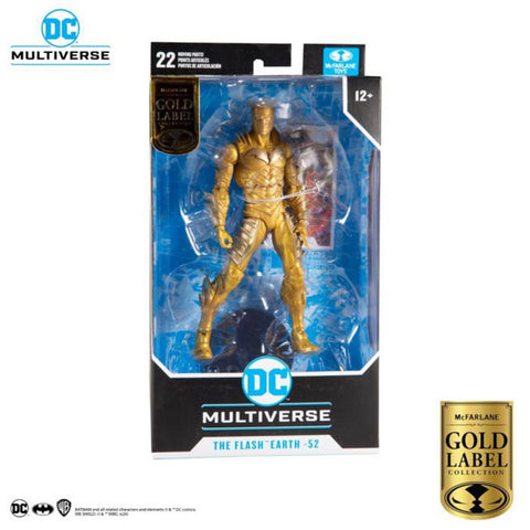 "Dark Nights: Metal - Red Death Gold Variant DC Multiverse Gold Label 7"" Figure"