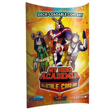 My Hero Academia Collectible Card Game Deck-Loadable Content