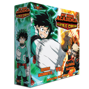 My Hero Academia Collectible Card Game Izuku Midoriya vs Katsuki Bakugo 2-Play Rival Decks