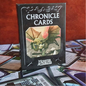 Chronicle Cards Universal Monster Attributes Deck