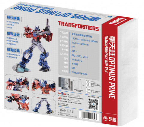 Image of MU Model Transformers IDW Optimus Prime