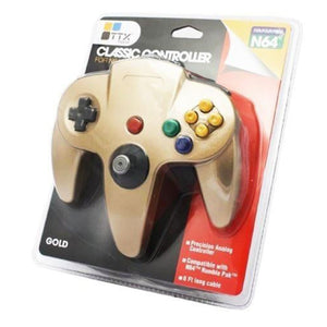 N64 Controller Gold