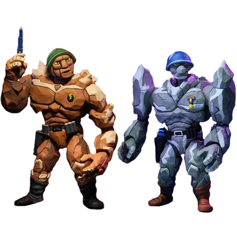 "Teenage Mutant Ninja Turtles - Trigg & Granitor 7"" Action Figure 2-pack"
