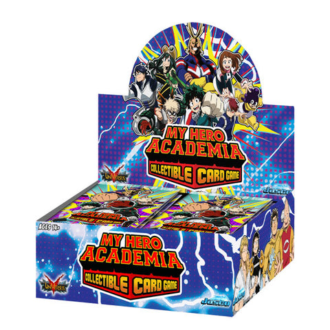 My Hero Academia Collectible Card Game Booster Display Wave 1