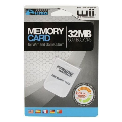 Wii and Gamecube Memory Card New