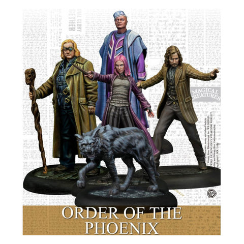 Harry Potter Miniatures Adventure Game Order Of The Phoenix