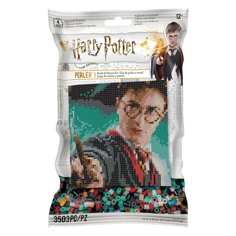 Perler Harry Potter Pattern Bag Kit (3,500 Beads)