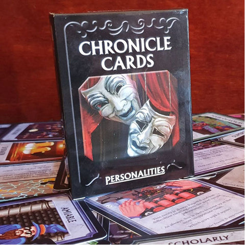 Image of Chronicle Cards Universal Personalities Deck