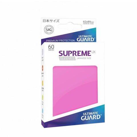 Ultimate Guard Supreme UX Sleeves Japanese Size Pink (60)