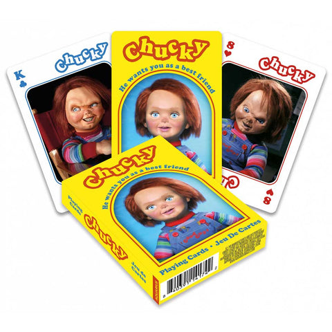 Playing Cards Chucky