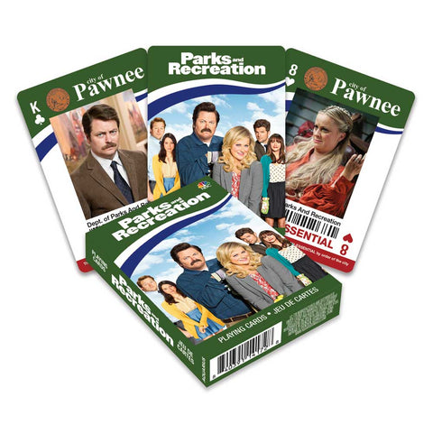 Playing Cards Parks & Recreation