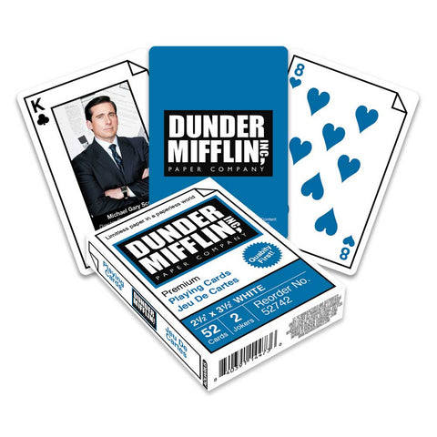 Playing Cards The Office Dunder Mifflin Swag