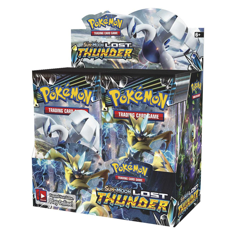 POKEMON TCG - Sun and Moon Lost Thunder Booster Box