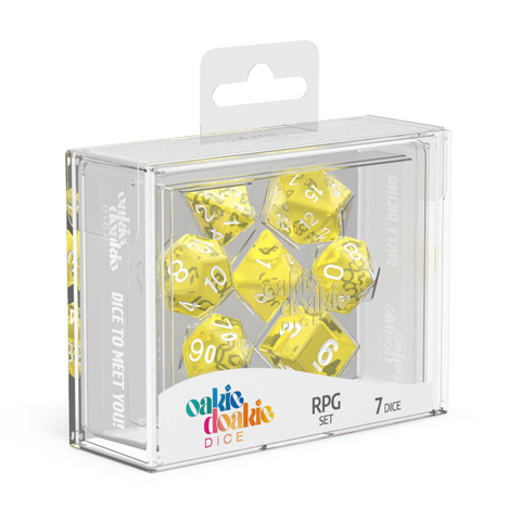 Oakie Doakie Dice RPG Translucent Yellow