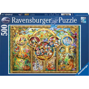 Ravensburger - Disney Family Puzzle 500 pieces