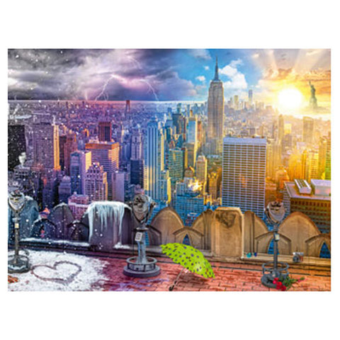 Image of Ravensburger - Seasons of New York 1500 pieces