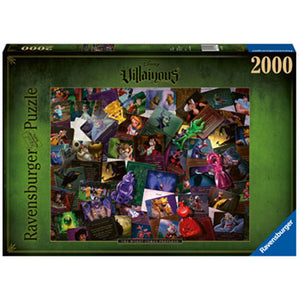 Ravensburger - Villainous The Worst Comes Prepared 2000 pieces