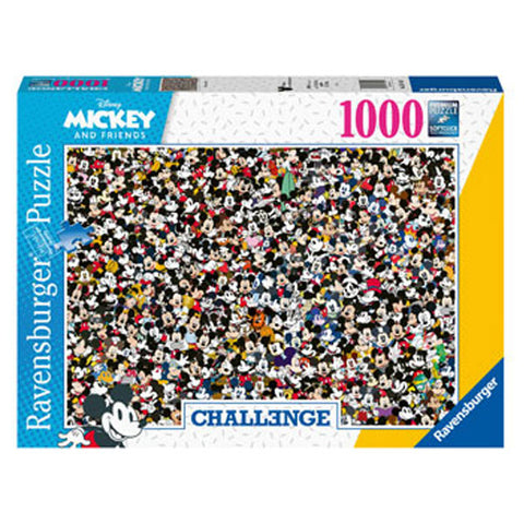 Rburg - Challenge Mickey Puzzle 1000pc
