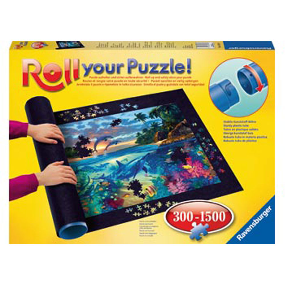 Roll Your Puzzle! 300-1500 pieces