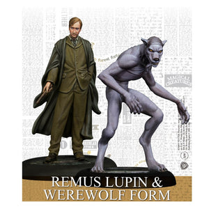 Harry Potter Miniatures Adventure Game Remus Lupin And Werewolf Form