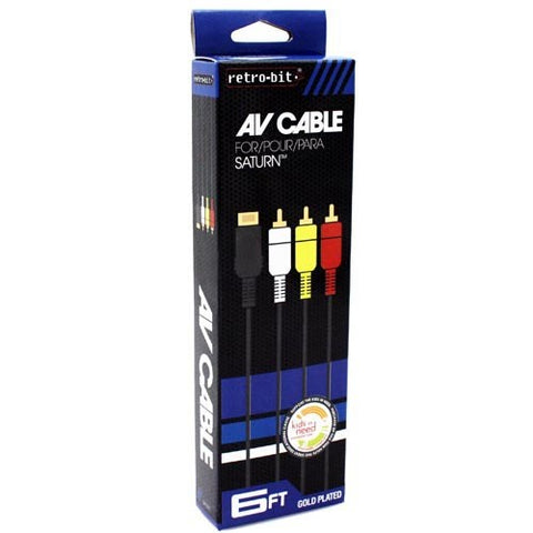 AV Cable Saturn Boxed