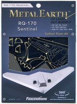Metal Earth Rq-170 Sentinel Model Kit
