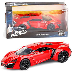 Fast and Furious Lykan Hypersport 1:24