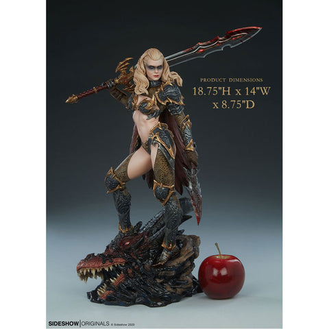 Sideshow Originals - Dragon Slayer Statue