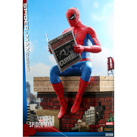 "Spider-Man (Video Game 2018) - Spider-Man Classic Suit 1:6 Scale 12"" Action Figure"