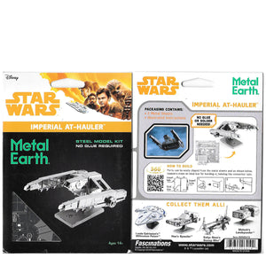 Metal Earth Star Wars Imperial AT-Hauler