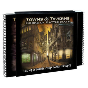 Books of Battle Mats Towns & Taverns