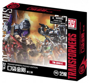 MU Model Transformers Generation 1 Mini Version Volume 3 (6 in the Assortment)