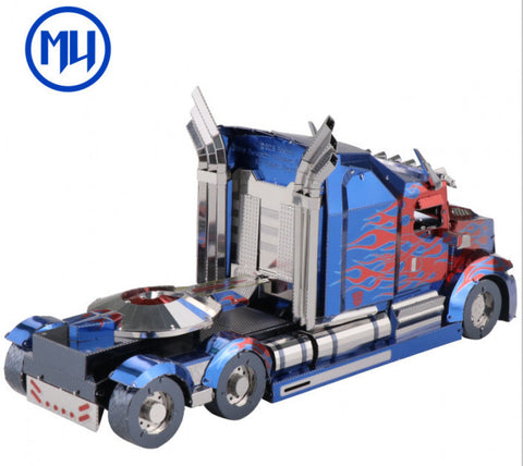 MU Model Transformers the Last Knight Optimus Prime Truck Version