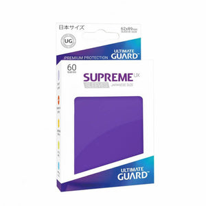 Ultimate Guard Supreme UX Sleeves Japanese Size Purple (60)