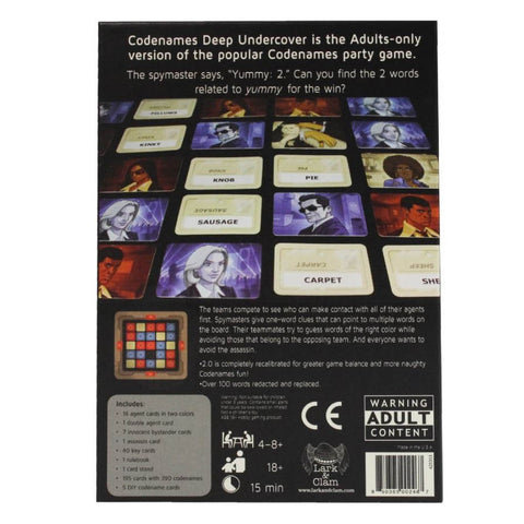 Image of Codenames Deep Undercover V2.0